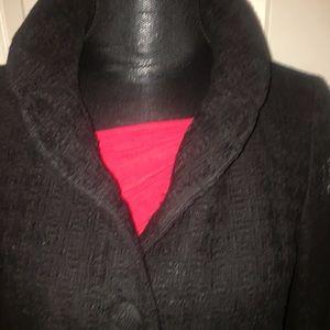 Banana republic black textured jacket